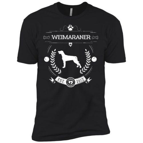 Varsity Weimaraner Premium Tee