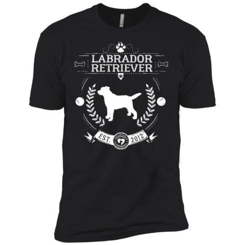 Varsity Labrador Retriever Premium Tee