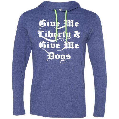 Liberty & Dogs T-Shirt Hoodie