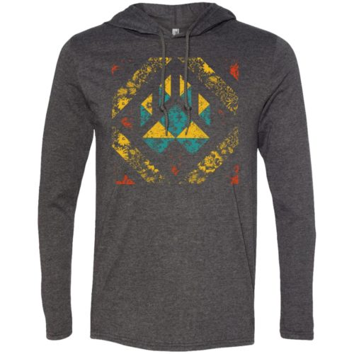 Quilted Paw T-Shirt Hoodie