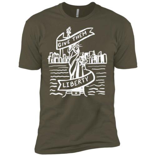 Lady Liberty Sketch Premium Tee