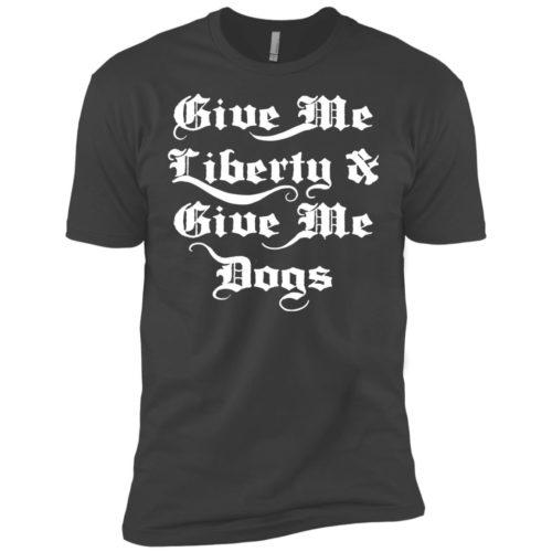 Liberty & Dogs Premium Tee