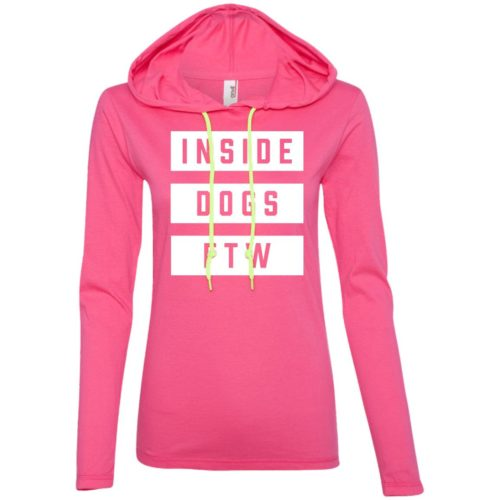 Inside Dogs FTW Fitted T-Shirt Hoodie