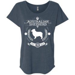 Varsity Australian Shepherd Ladies' Slouchy T-Shirt