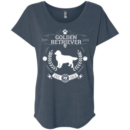 Varsity Golden Retriever Slouchy Tee