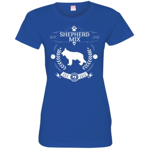 Varsity Shepherd Mix Fitted Tee