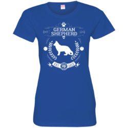 Varsity German Shepherd Ladies' Premium T-Shirt