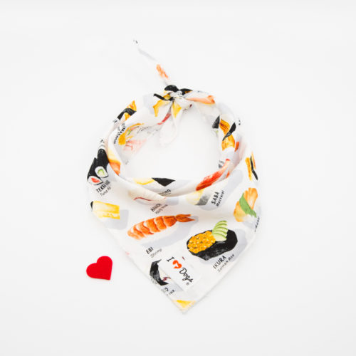 I Love Sushi Calming Aromatherapy Bandana