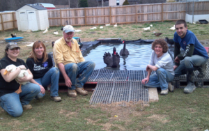 Volunteers Flocked To Rebuild Waterfowl Sanctuary After A Twister, Aided By Larger Good's Help