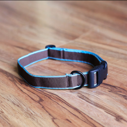 Secret Agent Dog Collar™ (Brown)  the Deceptively Comfortable Collar Your Pup Will Love