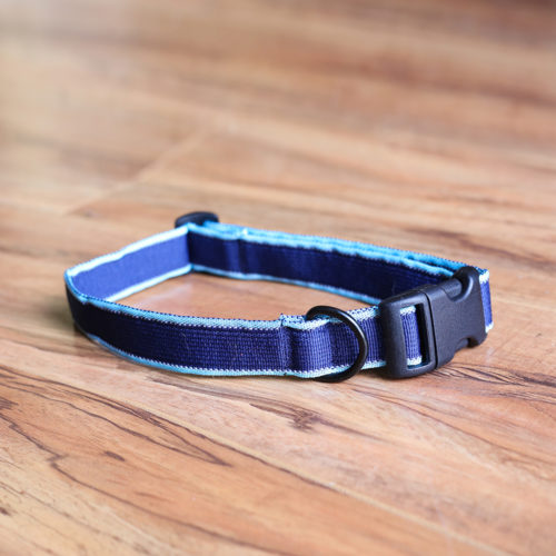 Secret Agent Dog Collar™ (Blue) the Deceptively Comfortable Collar Your Pup Will Love