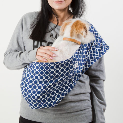 Just Circles Calming Aromatherapy Dog Carrier Sling