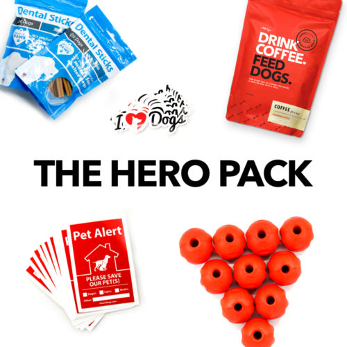 """""""Hero Pack"""" – Surprise Your Local Shelter or Rescue With Much Needed Supplies"""