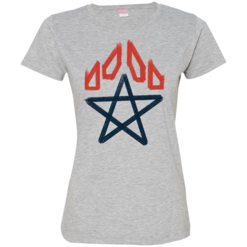 Star Paw Fitted Tee