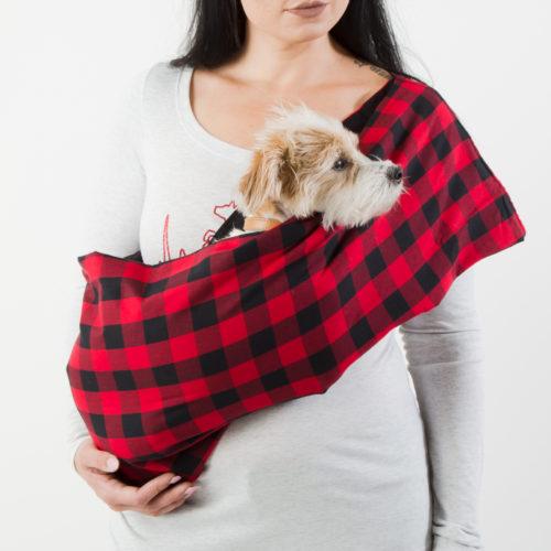 Woodland Walk Aromatherapy Dog Carrier Sling