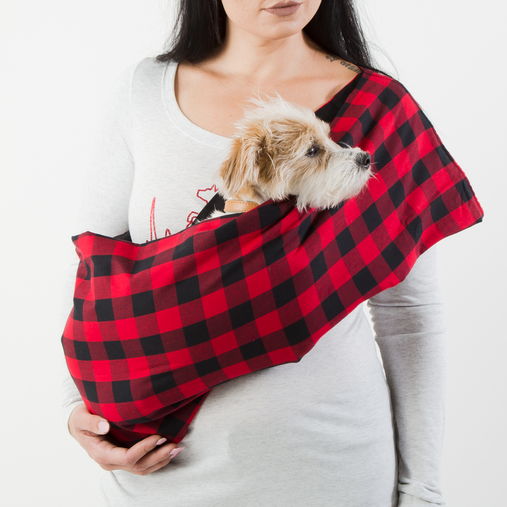 Image of Woodland Walk Aromatherapy Dog Carrier Sling