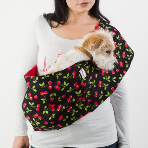Sweet Sweet Cherries Calming Aromatherapy Dog Carrier Sling