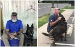 Military Veteran Reunited With His Retired Bomb-Sniffing Canine After 6 Months Of Separation