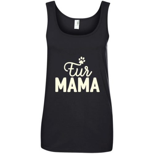 Fur Mama Women's Basic Tank