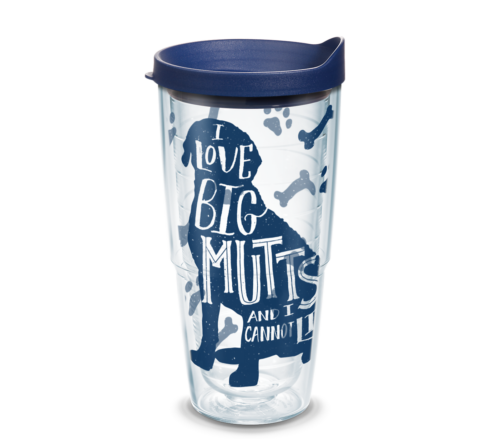 I Love Big Mutts Tervis Insulated 24oz BPA-Free Plastic Tumbler