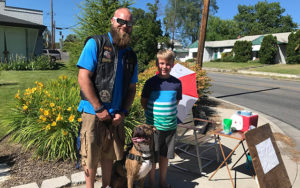 Boy's Lemonade Stand Raises Over $1,500 To Undertake A Pup
