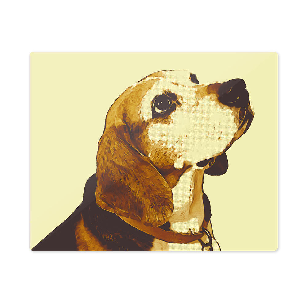 iHeartDogs Custom Wall Art MODERN Metal Print