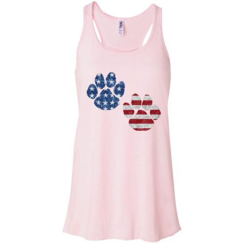 Flag Paws USA Flowy Tank