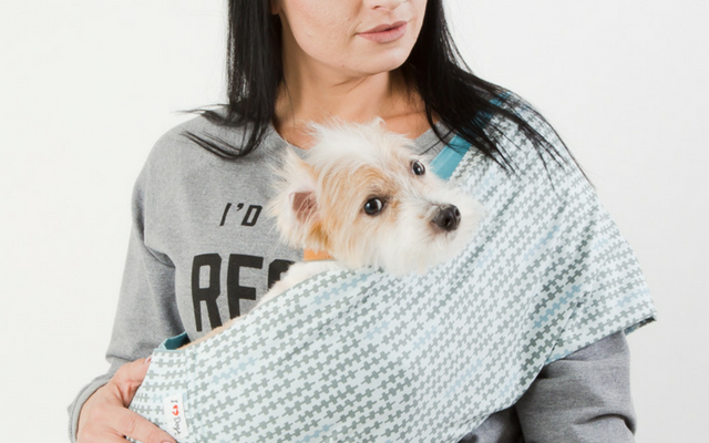 Calming Aromatherapy Dog Carrier Sling Archives