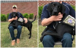 Thanks To Your Help, This Deserving Veteran Receives A Service Canine Who Turns His Life Round