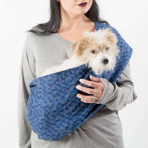 Shoreline Calming Aromatherapy Dog Carrier Sling