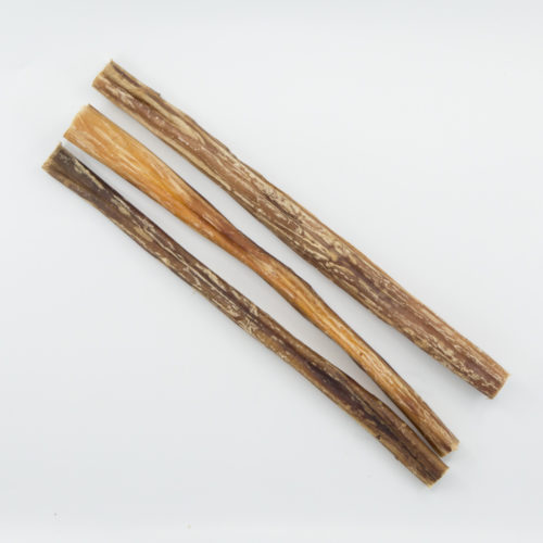 "12"" Bully Stick Pack: Every Stick Provides A Meal For A Shelter Dog"