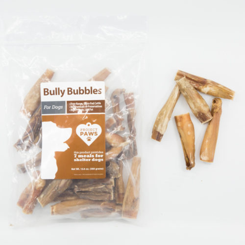 Bully Bubble Pack: Healthy Single Ingredient Chew That Also Provides Meals For Shelter Dogs