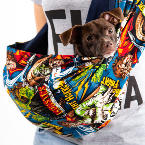 My Little Monsters Aromatherapy Dog Carrier Sling