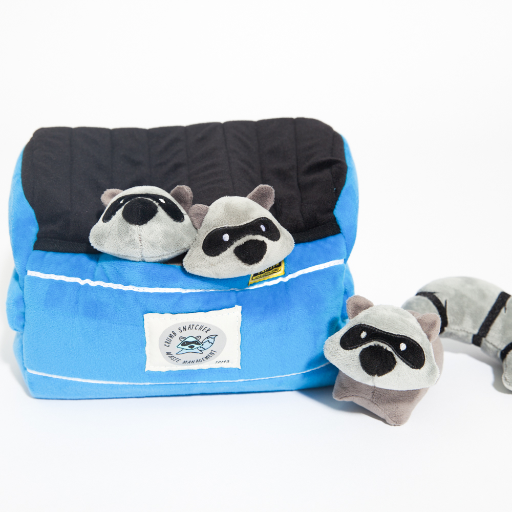 Image of Raccoon Hide & Hunt Plush Toy