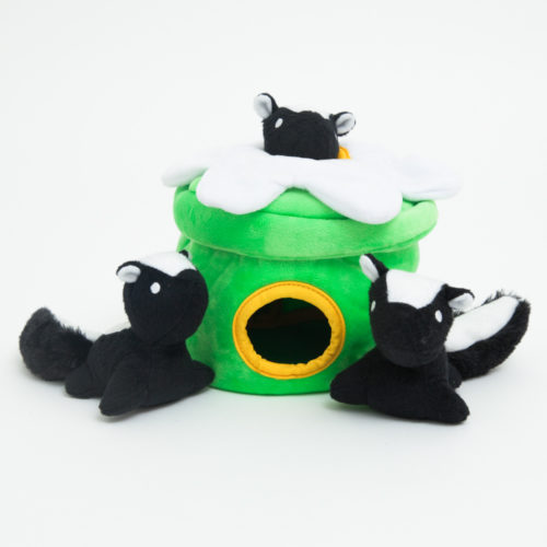 Skunk Flower Hide & Hunt Puzzle Dog Toy