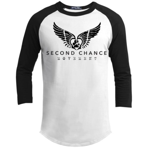 Second Chance Movement 3/4 Sleeve Baseball Shirt