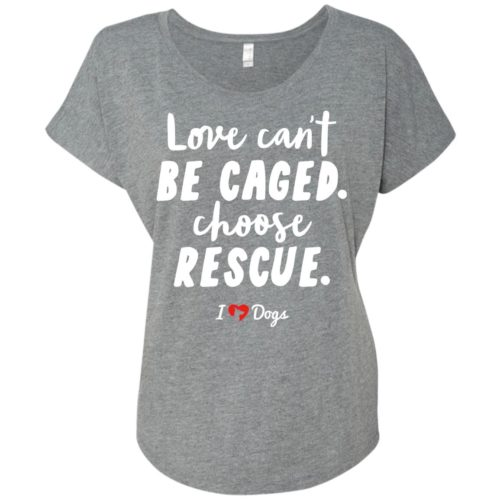 IHD Choose Rescue Slouchy Tee
