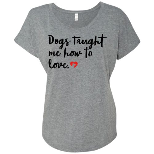 Taught To Love Slouchy Tee