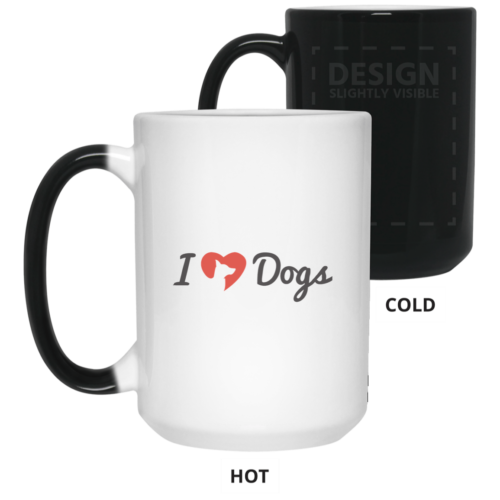 IHD Logo 15 oz. Color Changing Mug