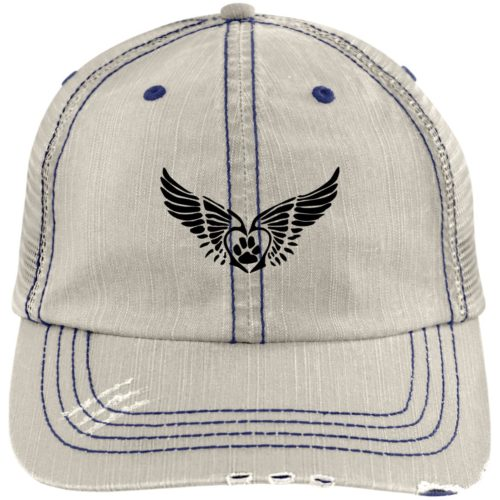 Second Chance Movement Embroidered Distressed Trucker Hat