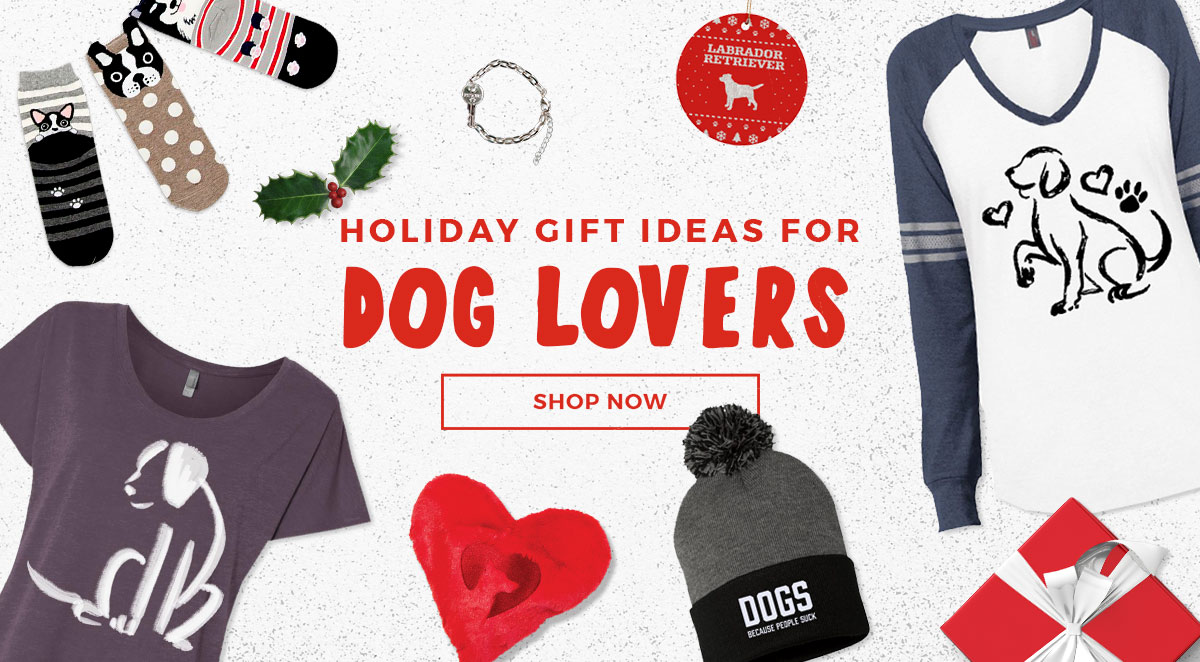 The Best Holiday Gift Ideas for Dogs & Dog Lovers