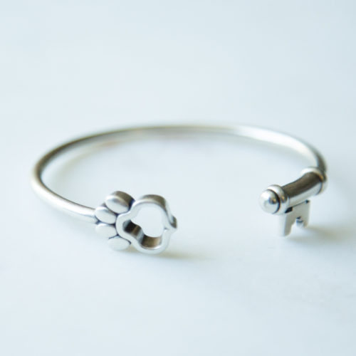 Second Chance Movement™ Set Them Free Sterling Silver Bangle Cuff Bracelet