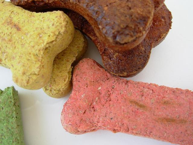 common ingredients in dog treats