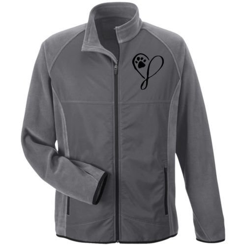 Elegant Heart Embroidered Microfleece Jackets