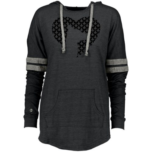 IHD Second Chance Movement Varsity Slouchy Hoodie