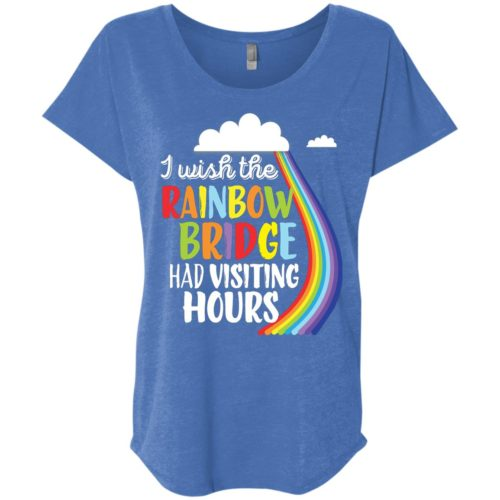 Rainbow Bridge Hours Slouchy Tee