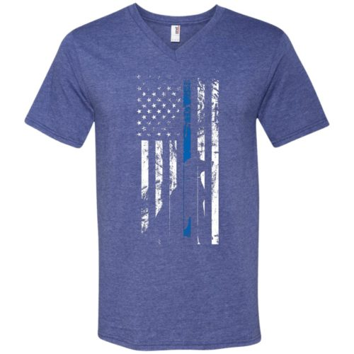 K9 Flag Men's V-Neck