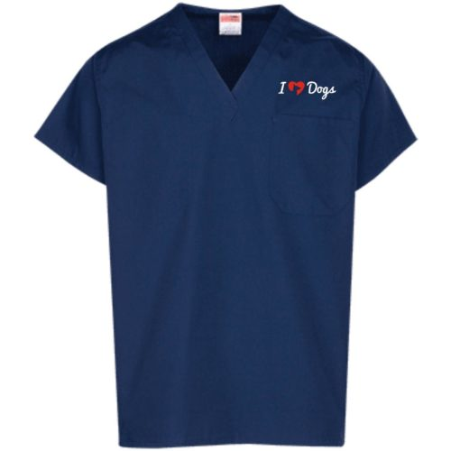 IHD Logo Embroidered Scrub Top