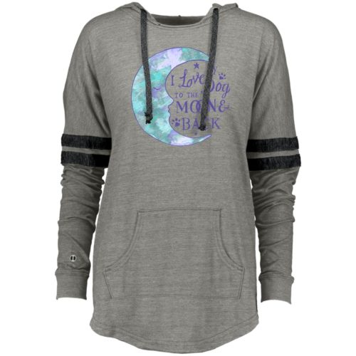 To The Moon & Back Varsity Slouchy Hoodie