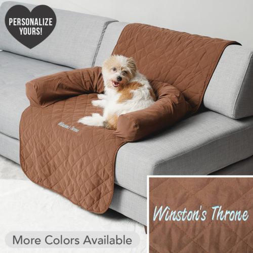 Comfy Customizable Furniture Protector With Bolster Pillow, Medium